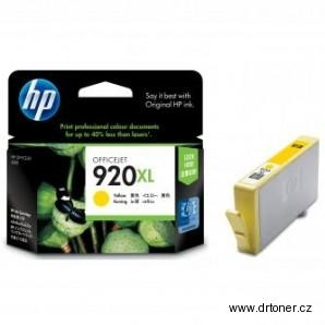 Hp 920xl yellow originál
