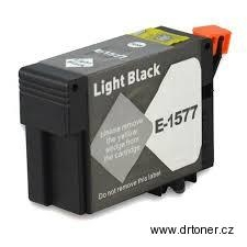 Epson T1577 light black kompatibilní